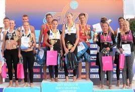 Обнинские спортсменки вернулись из Вильнюса с победой