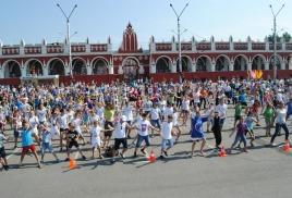 В День физкультурника в Калуге состоится городская зарядка